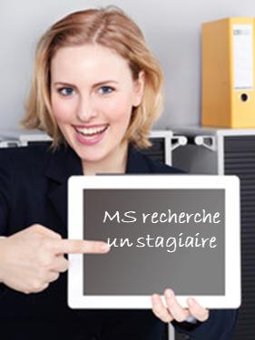 MS GROUP RECHERCHE UN STAGIAIRE H/F EN RECRUTEMENT